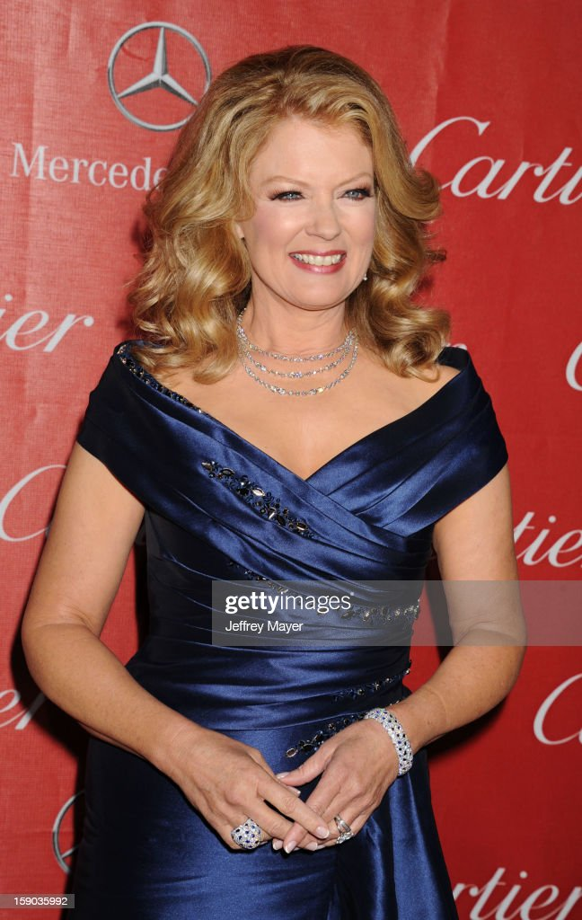 TV Personality Mary Hart arrives at the 24th Annual Palm Springs International Film Festival - Awards Gala at Palm Springs Convention Center on January 5, 2013 in Palm Springs, California.