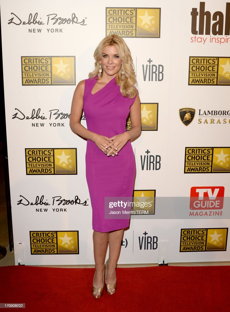 TV Personality <a gi-track='captionPersonalityLinkClicked' href=/galleries/search?phrase=McKenzie+Westmore&family=editorial&specificpeople=182442 ng-click='$event.stopPropagation()'>McKenzie Westmore</a> arrives at Broadcast Television Journalists Association's third annual Critics' Choice Television Awards at The Beverly Hilton Hotel on June 10, 2013 in Beverly Hills, California.