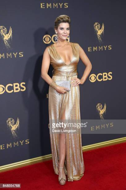 TV personality McKenzie Westmore attends the 69th Annual Primetime Emmy Awards Arrivals at Microsoft Theater on September 17 2017 in Los Angeles...