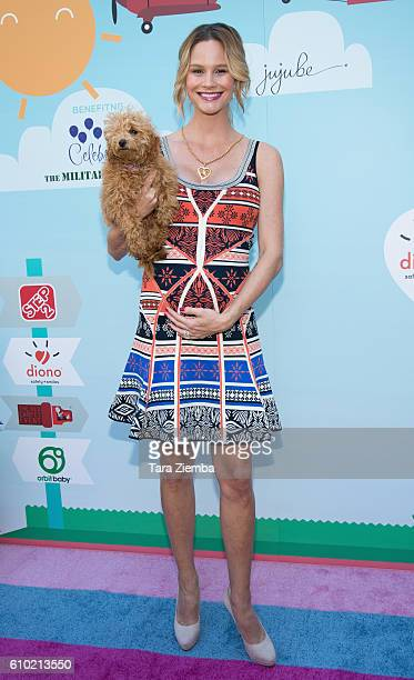 TV personality Meghan King Edmonds attends the 5th Annual Red Carpet Safety Awareness Event at Sony Pictures Studios on September 24 2016 in Culver...