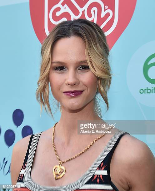 TV personality Meghan King Edmonds attends the Step2 Favoredby Present The 5th Annual Red Carpet Safety Awareness Event at Sony Pictures Studios on...