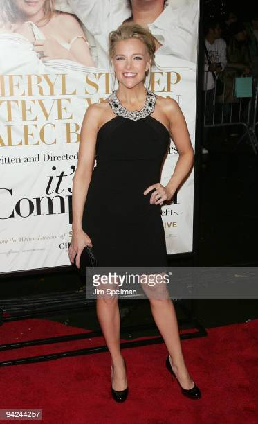 TV personality Megyn Kelly attends the New York premiere of 'It's Complicated' at The Paris Theatre on December 9 2009 in New York City
