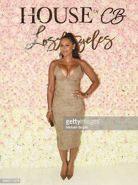 Personality Mel B arrives at House of CB Los Angeles on June 14 2016 in Los Angeles California