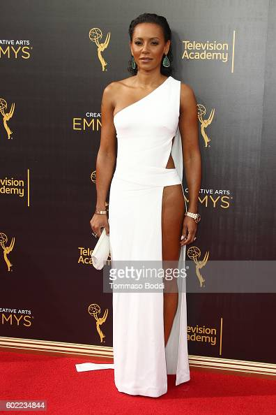 Personality Mel B attends the 2016 Creative Arts Emmy Awards Day 1 at Microsoft Theater on September 10 2016 in Los Angeles California