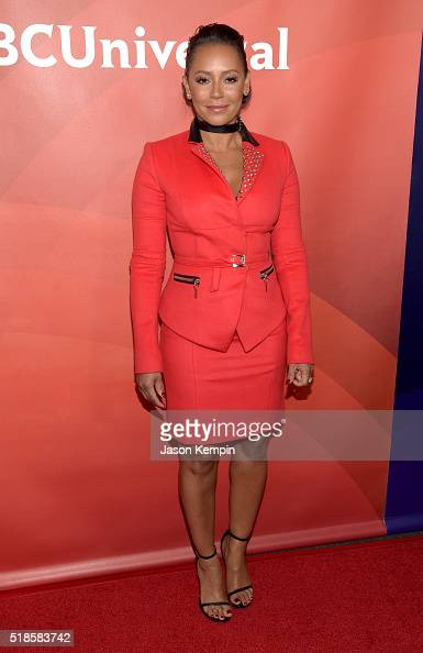 TV personality Mel B attends the 2016 NBCUniversal Summer Press Day at Four Seasons Hotel Westlake Village on April 1 2016 in Westlake Village...