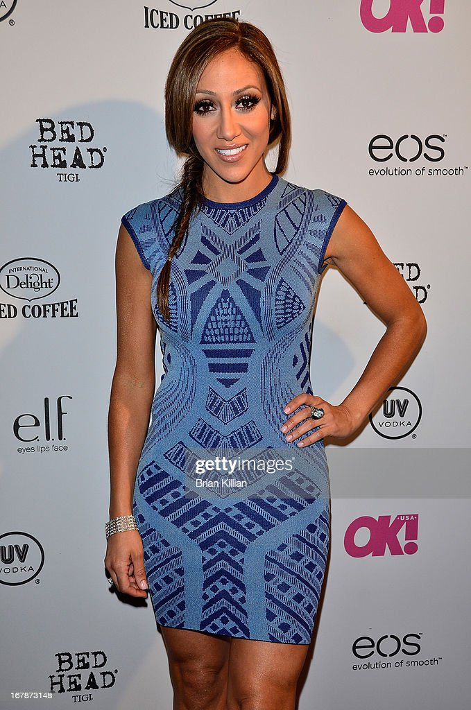 TV personality Melissa Gorga attends the 2013 OK! Magazine 'So Sexy' Party at Marquee on May 1, 2013 in New York City.