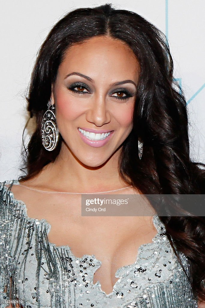 TV personality Melissa Gorga attends the Bravo Upfront 2012 at Center 548 on April 4, 2012 in New York City.