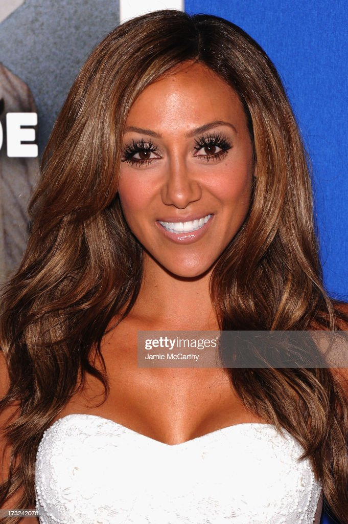 TV personality Melissa Gorga attends the 'Grown Ups 2' New York Premiere at AMC Lincoln Square Theater on July 10, 2013 in New York City.