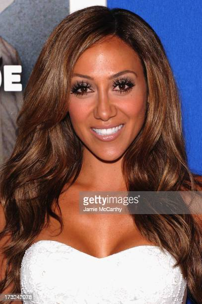 TV personality Melissa Gorga attends the 'Grown Ups 2' New York Premiere at AMC Lincoln Square Theater on July 10 2013 in New York City