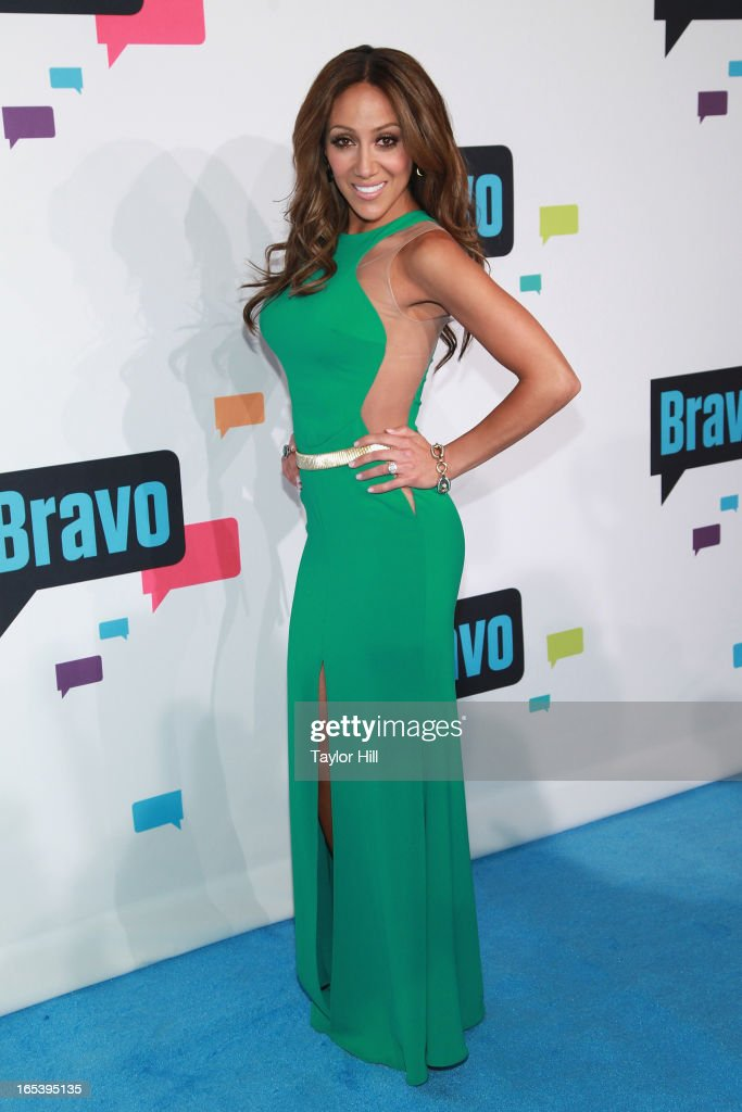 TV personality Melissa Gorga of 'The Real Housewives of New Jersey' attends the 2013 Bravo Upfront at Pillars 37 Studios on April 3, 2013 in New York City.