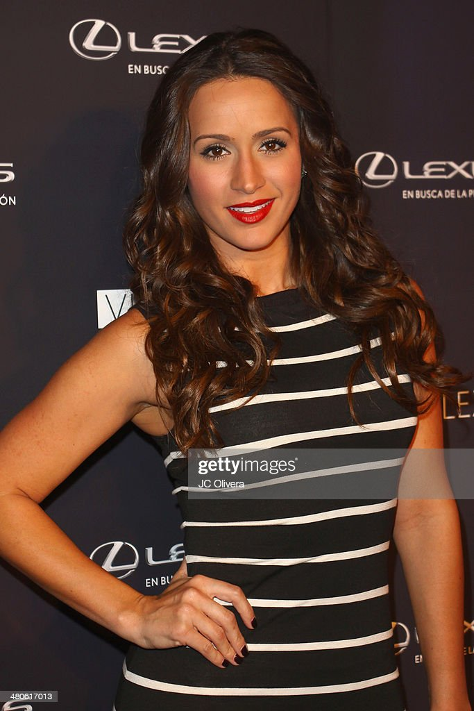 TV Personality Melissa Marty attends Sabor de Lujo at Vida Lexus event celebrating latino culture in Los Angeles at Sofitel Hotel on March 25, 2014 in Los Angeles, California.