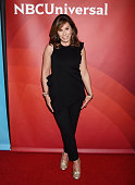 TV personality Melissa Rivers arrives at the 2016 Summer TCA Tour NBCUniversal Press Tour at the Four Seasons Hotel Westlake Village on April 1 2016...