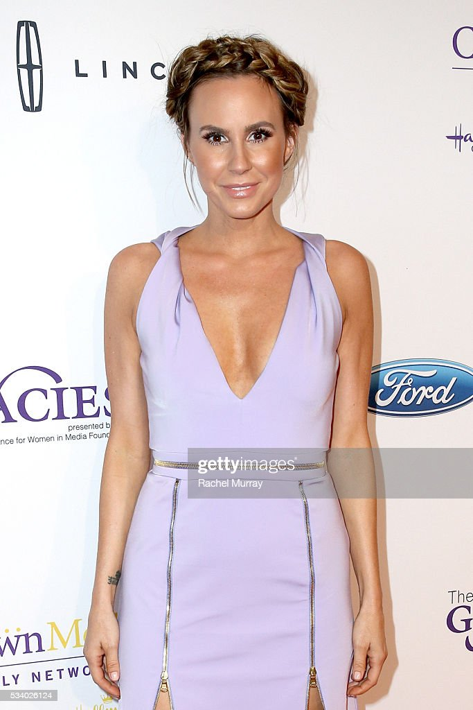 TV personality <a gi-track='captionPersonalityLinkClicked' href=/galleries/search?phrase=Melissa+Rivers&family=editorial&specificpeople=204230 ng-click='$event.stopPropagation()'>Melissa Rivers</a> attends the 41st Annual Gracie Awards at Regent Beverly Wilshire Hotel on May 24, 2016 in Beverly Hills, California.