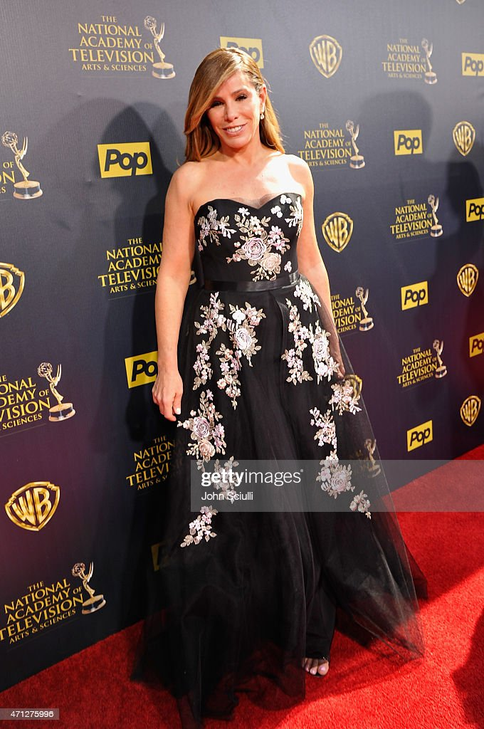TV personality Melissa Rivers attends The 42nd Annual Daytime Emmy Awards at Warner Bros Studios on April 26 2015 in Burbank California