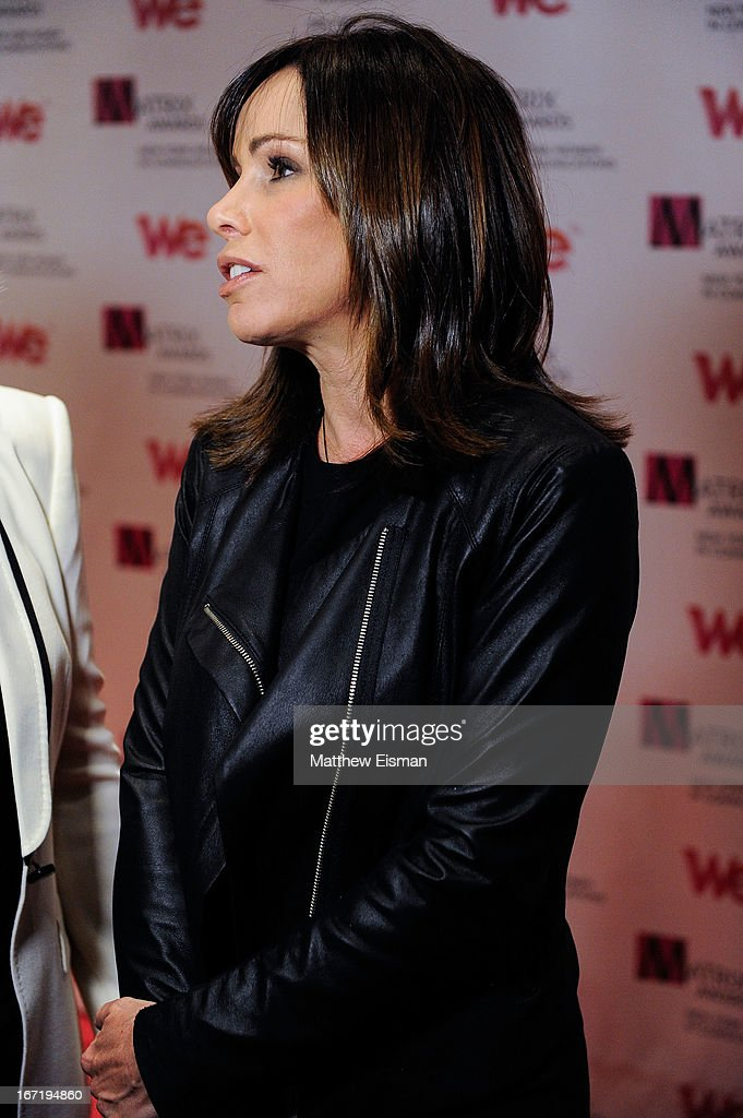 TV personality Melissa Rivers attends the New York Women In Communications 2013 Matrix Awards at The Waldorf Astoria on April 22, 2013 in New York City.