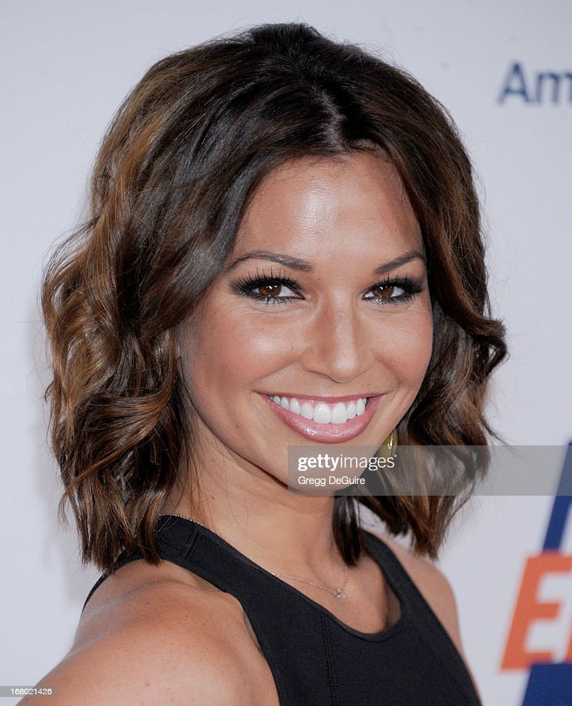 TV personality Melissa Rycroft arrives at the 20th Annual Race To Erase MS Gala 'Love To Erase MS' at the Hyatt Regency Century Plaza on May 3, 2013 in Century City, California.