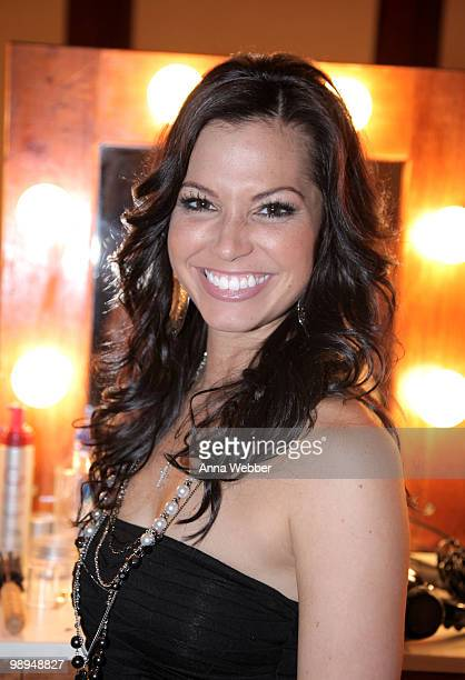 TV personality Melissa Rycroft attends the 17th Annual Race to Erase MS event cochaired by Nancy Davis and Tommy Hilfiger at the Hyatt Regency...