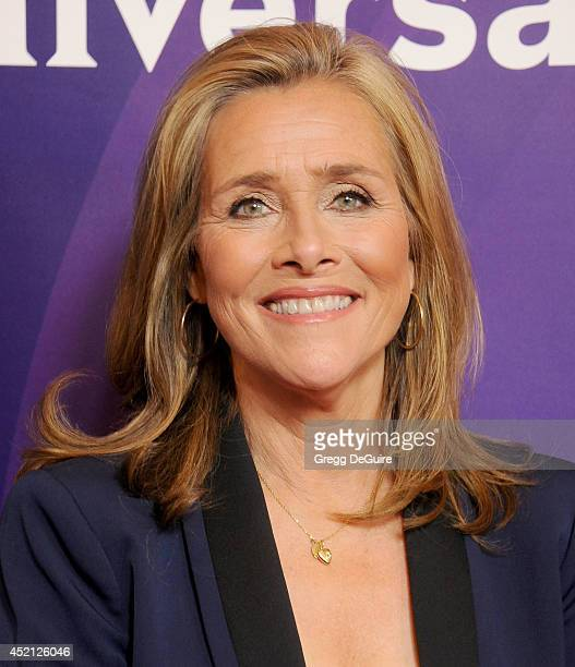 TV personality Meredith Vieira arrives at the 2014 Television Critics Association Summer Press Tour NBCUniversal Day 1 at The Beverly Hilton Hotel on...