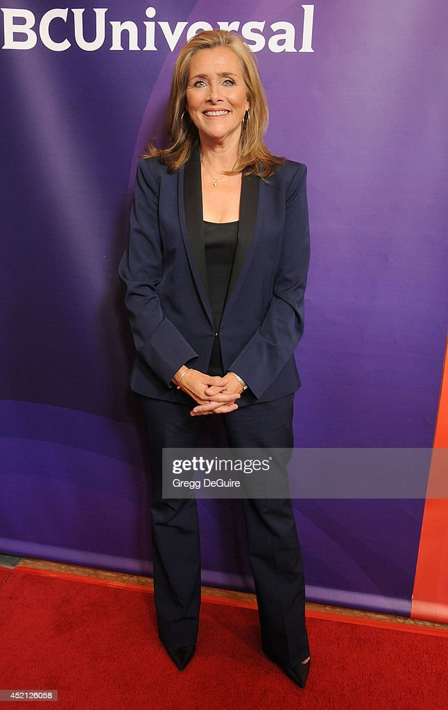 TV personality <a gi-track='captionPersonalityLinkClicked' href=/galleries/search?phrase=Meredith+Vieira&family=editorial&specificpeople=217718 ng-click='$event.stopPropagation()'>Meredith Vieira</a> arrives at the 2014 Television Critics Association Summer Press Tour - NBCUniversal - Day 1 at The Beverly Hilton Hotel on July 13, 2014 in Beverly Hills, California.