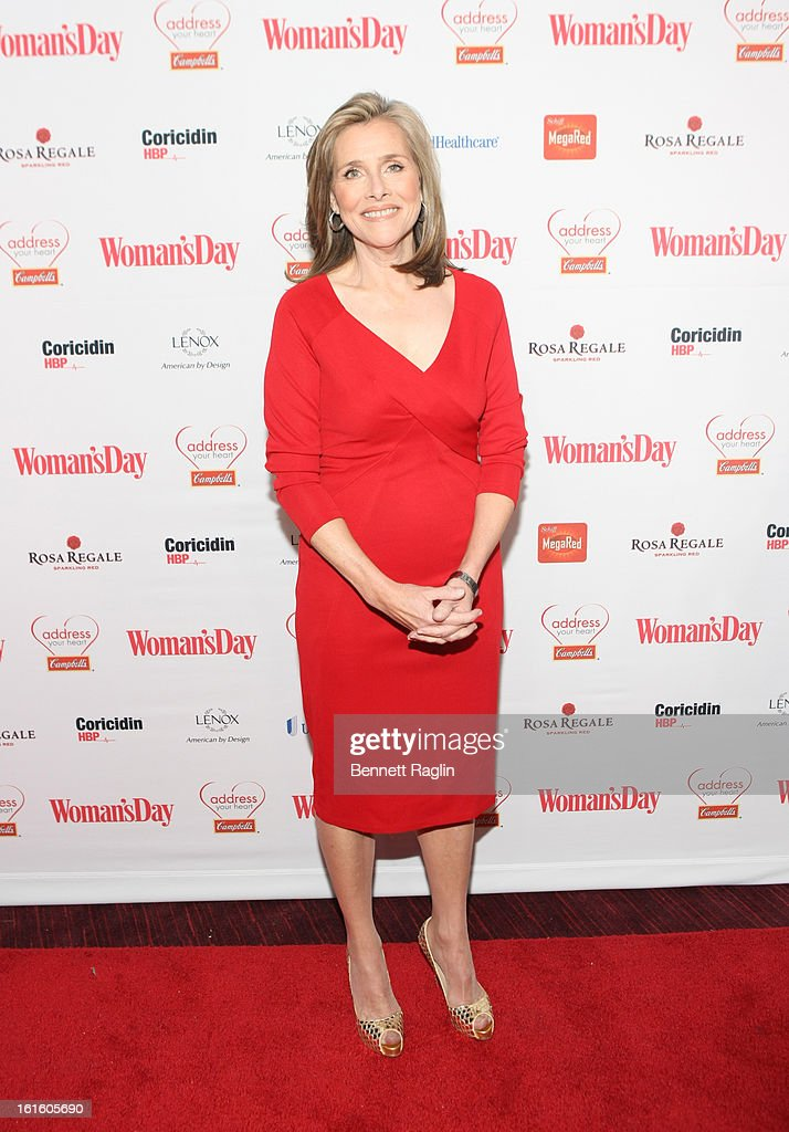 TV personality Meredith Vieira attends the 10th Annual Red Dress Awards at Jazz at Lincoln Center on February 12, 2013 in New York City.