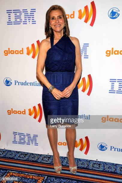 TV personality Meredith Vieira attends the 21st Annual GLAAD Media Awards at The New York Marriott Marquis on March 13 2010 in New York New York