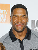 TV personality Michael Strahan attends the 'Ice Age Collision Course' New York screening at Walter Reade Theater on July 7 2016 in New York City