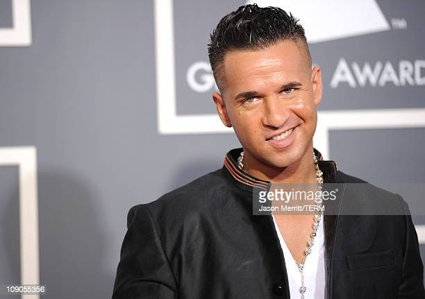 TV personality Michael 'The Situation' Sorrentino arrives at The 53rd Annual GRAMMY Awards held at Staples Center on February 13 2011 in Los Angeles...