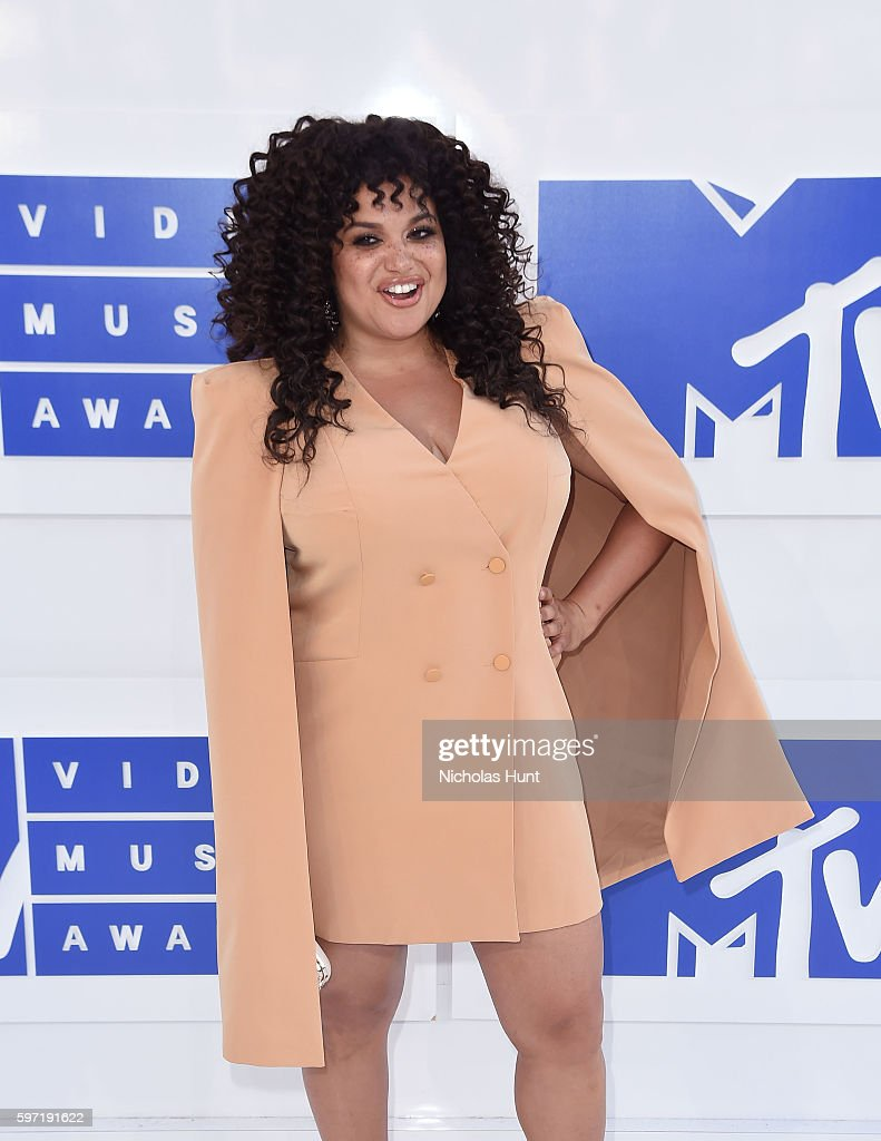 TV personality Michelle Buteau attends the 2016 MTV Video Music Awards at Madison Square Garden on August 28 2016 in New York City