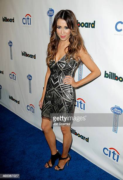 TV personality Michelle Marie attends the second annual Billboard GRAMMY After Party at The London West Hollywood on January 26 2014 in West...