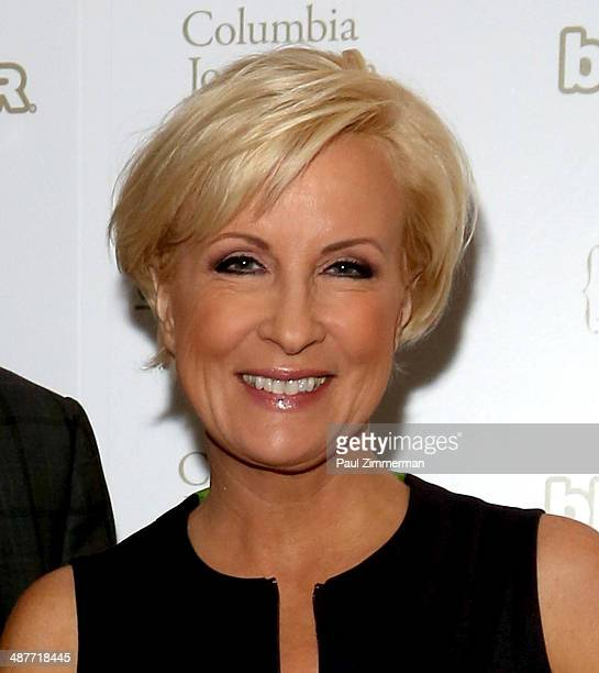 TV personality Mika Brzezinski of MSNBC attend sthe 2014 National Magazine Awards at The New York Marriott Marquis on May 1 2014 in New York City