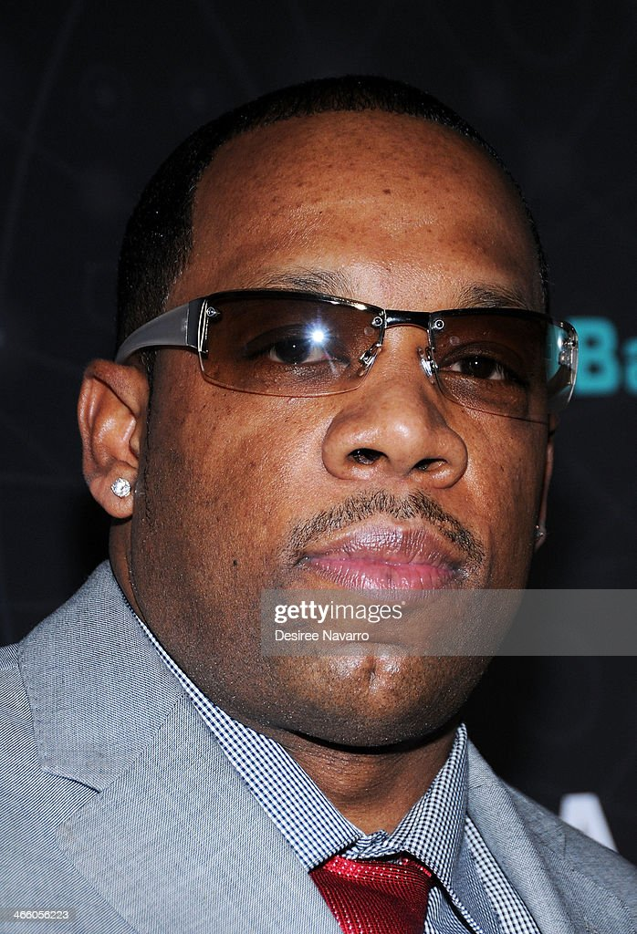 TV personality Mike Bivins attends Dr. Black's Brain Bar Super Bowl XLVIII Launch Event at PH-D Rooftop Lounge at Dream Downtown on January 30, 2014 in New York City.
