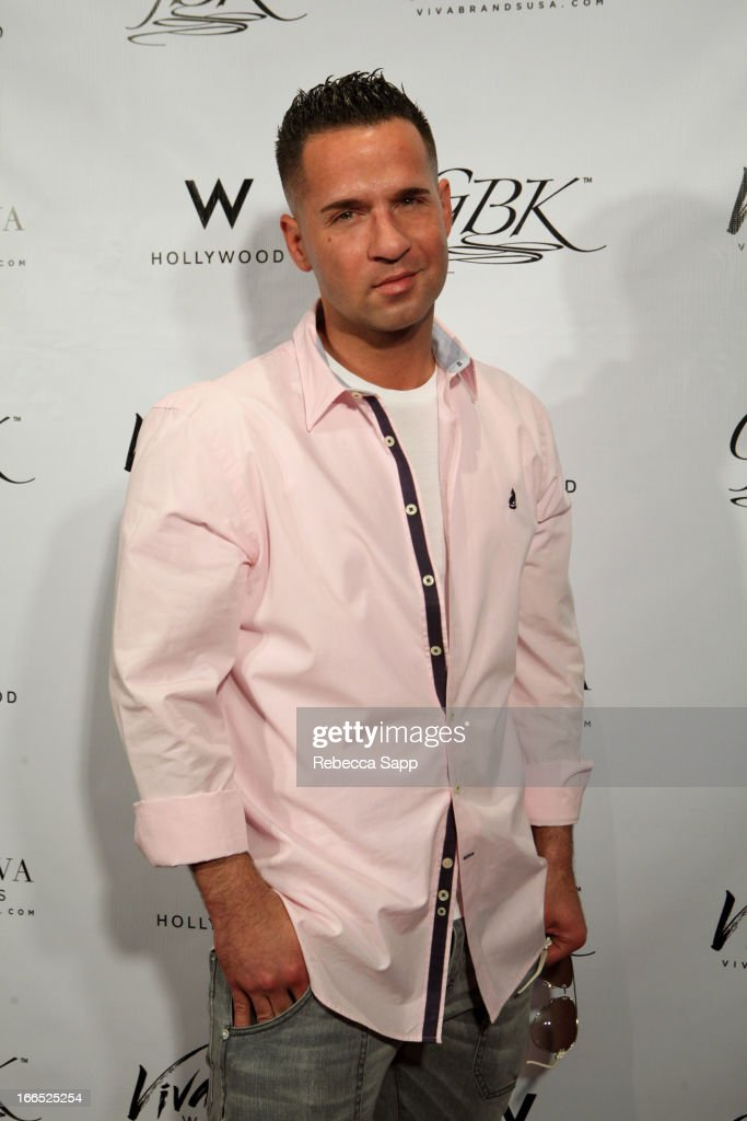 TV personality Mike 'The Situation' Sorrentino at GBK Gift Lounge In Honor Of The MTV Movie Award Nominees And Presenters - Day 2 at W Hollywood on April 13, 2013 in Hollywood, California.