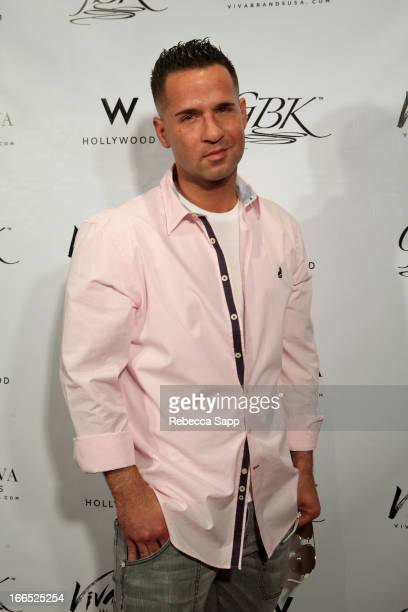 TV personality Mike 'The Situation' Sorrentino at GBK Gift Lounge In Honor Of The MTV Movie Award Nominees And Presenters Day 2 at W Hollywood on...