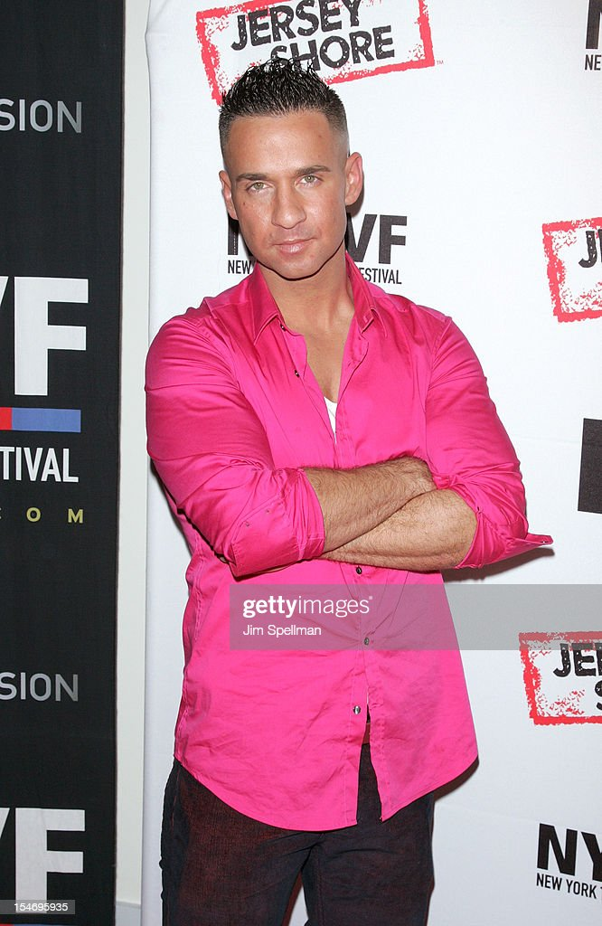 Personality Mike 'The Situation' Sorrentino attends 'Love Loss and Laundry A Farewell To The Jersey Shore' during the 2012 New York Television...