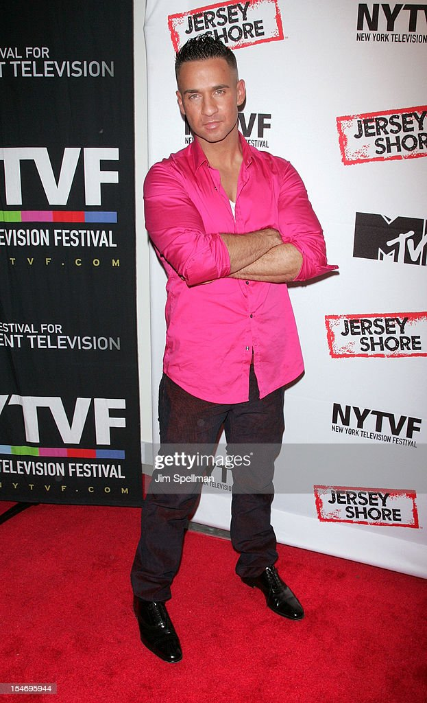 TV Personality Mike 'The Situation' Sorrentino attends 'Love, Loss, (Gym, Tan) and Laundry: A Farewell To The Jersey Shore' during the 2012 New York Television Festival at 92Y Tribeca on October 24, 2012 in New York City.