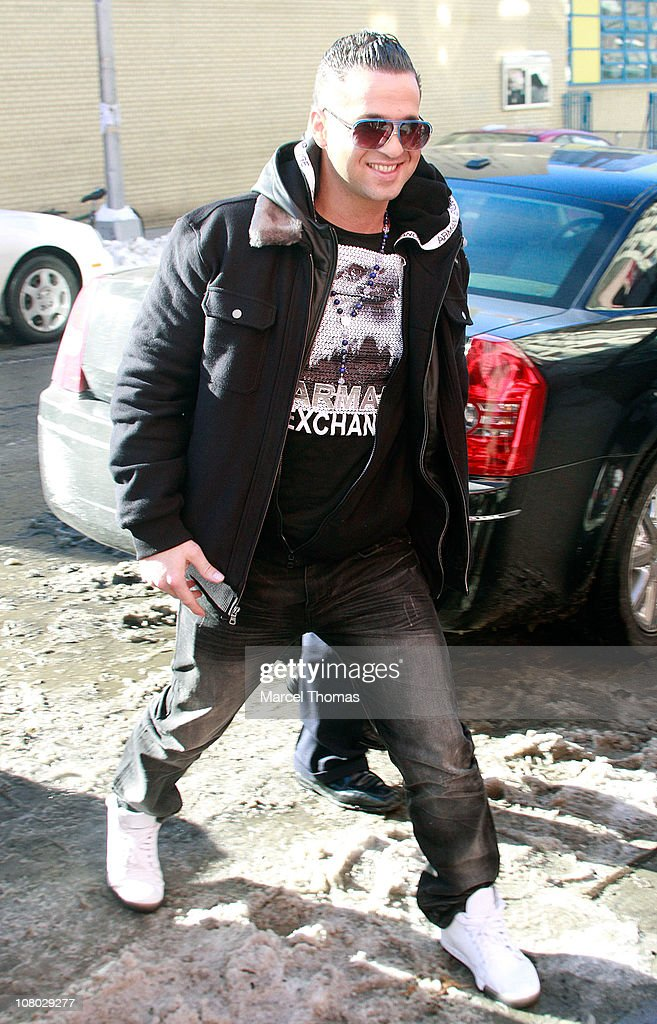 TV personality Mike 'The Situation' Sorrentino visits 'The Wendy Williams Show' on January 13 2011 in New York City