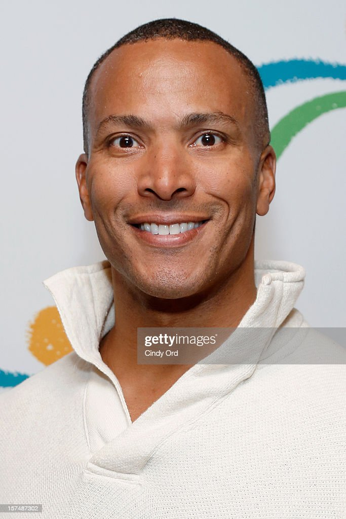 TV personality Mike Woods attends the Santa Project Party benefiting United Cerebral Palsy Of New York City at Bar Baresco on December 3, 2012 in New York City.