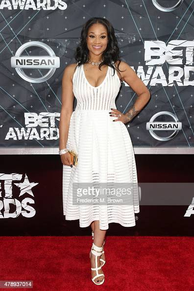 TV personality Mimi Faust attends the 2015 BET Awards at the Microsoft Theater on June 28 2015 in Los Angeles California