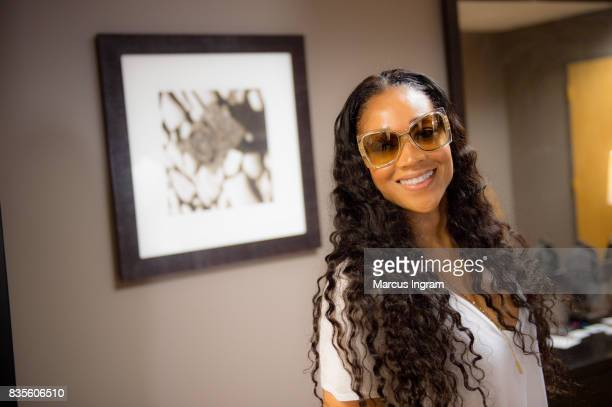 TV personality Mimi Faust hosts back to school bash to benefit Boys and Girls Club of Atlanta on August 19 2017 in Atlanta Georgia