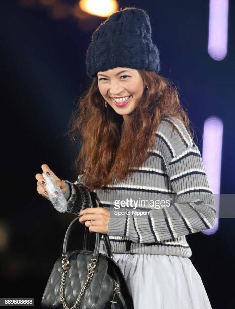 TV personality Misako Yasuda walks the runway during the 19th Tokyo Girls Collection 2014 Autumn/Winter on September 6 2014 in Saitama Japan