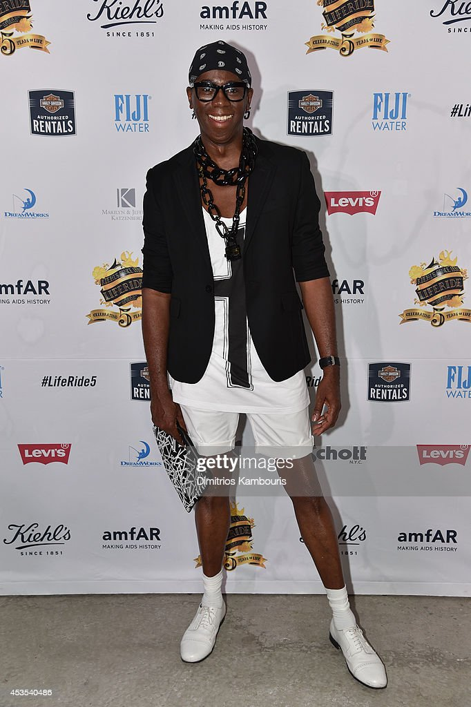 TV personality Miss J Alexander attends Kiehl's LifeRide Finale Event on August 12, 2014 in New York City.