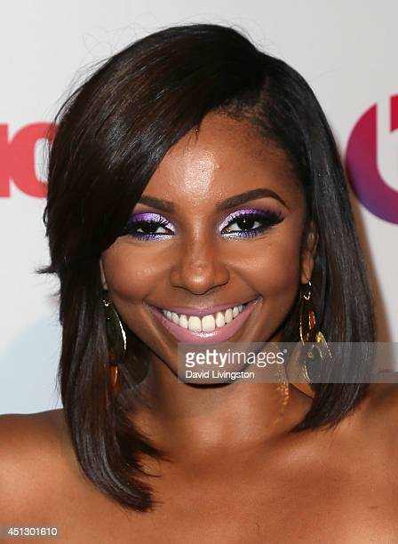 TV personality Miss Mykie attends the ASCAP 27th Annual Rhythm Soul Music Awards at The Beverly Hilton Hotel on June 26 2014 in Beverly Hills...