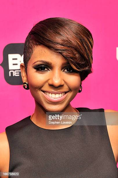 TV personality Miss Mykie attends the BET Networks 2013 New York Upfront on April 16 2013 in New York City