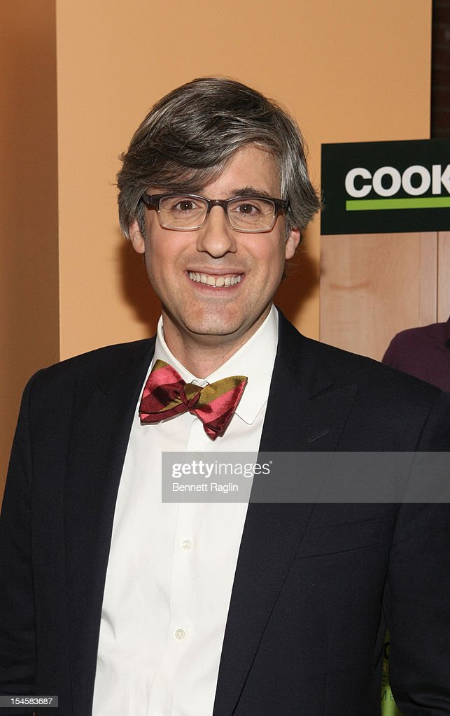 TV personality Mo Rocca attends 'My Grandmother's Ravioli' Premiere Party at Food Network Kitchens on October 22 2012 in New York City