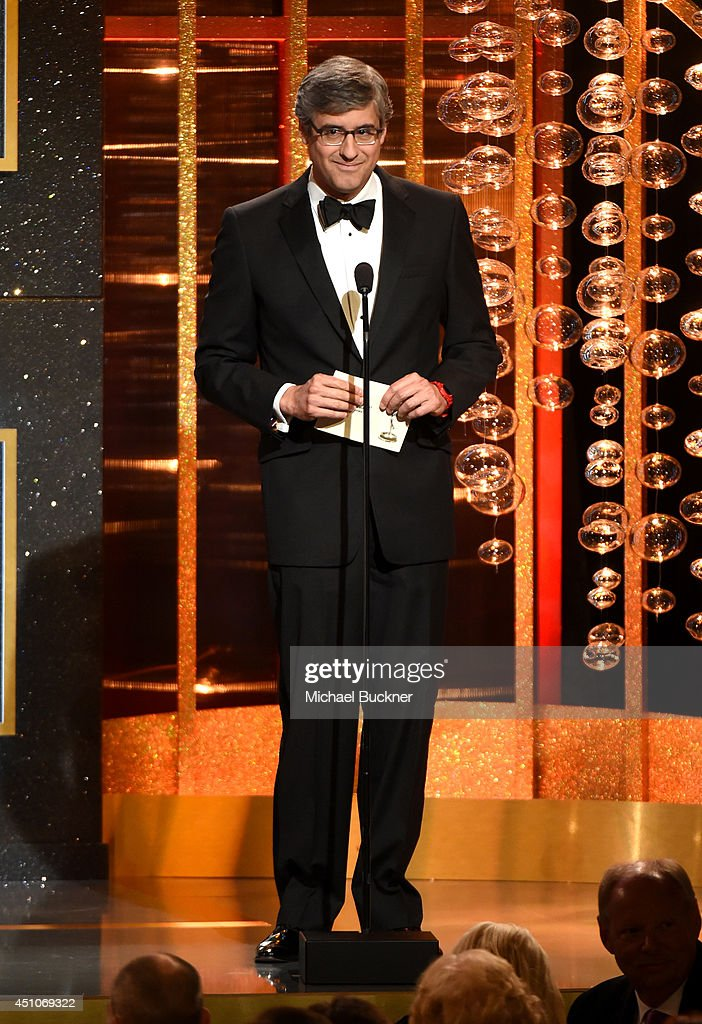 TV personality Mo Rocca speaks onstage during The 41st Annual Daytime Emmy Awards at The Beverly Hilton Hotel on June 22 2014 in Beverly Hills...