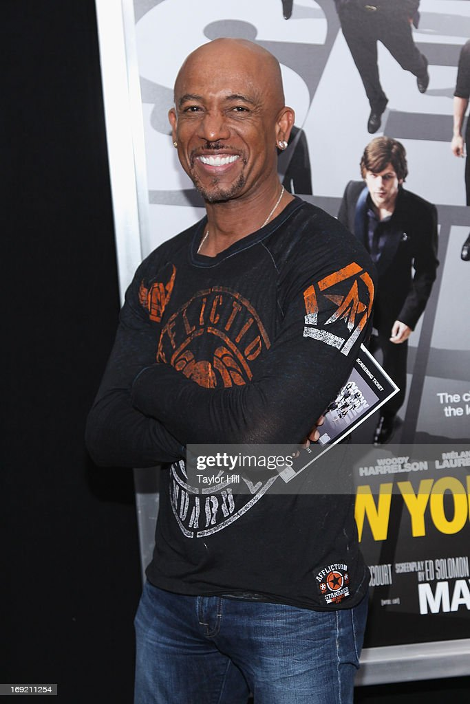 TV personality <a gi-track='captionPersonalityLinkClicked' href=/galleries/search?phrase=Montel+Williams&family=editorial&specificpeople=234536 ng-click='$event.stopPropagation()'>Montel Williams</a> attends the 'Now You See Me' premiere at AMC Lincoln Square Theater on May 21, 2013 in New York City.
