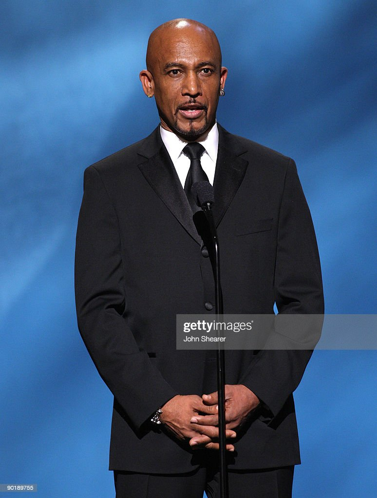 TV personality Montel Williams speaks onstage during the 36th Annual Daytime Emmy Awards at The Orpheum Theatre on August 30, 2009 in Los Angeles, California.
