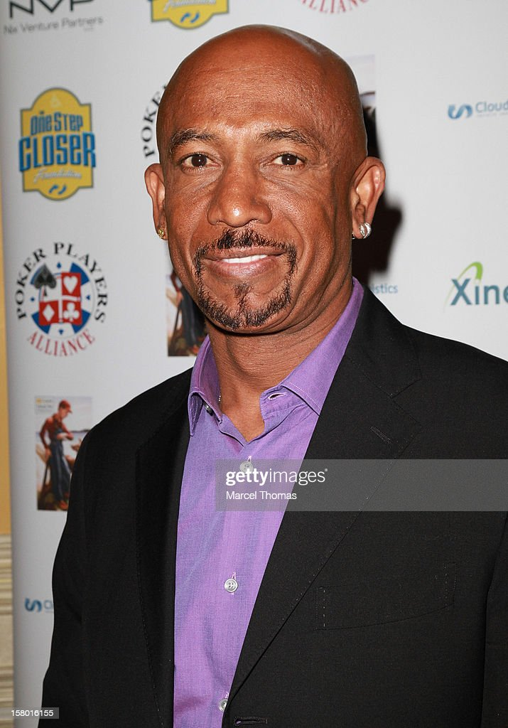 TV personality Montell Williams attends the 5th Annual 'All in for CP' Celebrity Poker tournament at the Venetian Hotel and Casino Resort on December 8, 2012 in Las Vegas, Nevada.