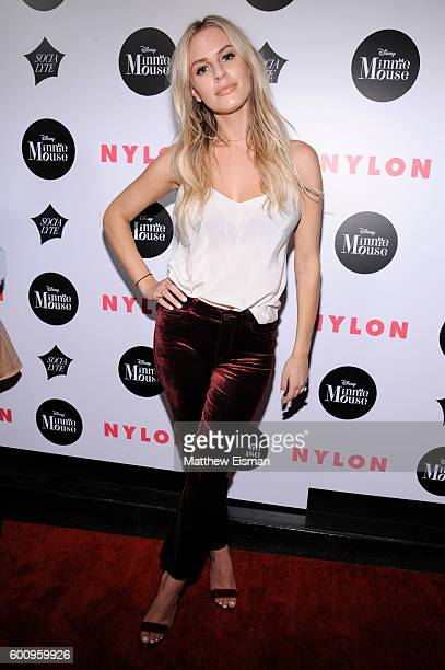 TV personality Morgan Stewart attends the NYLON Rebel Fashion Party on September 8 2016 in New York City