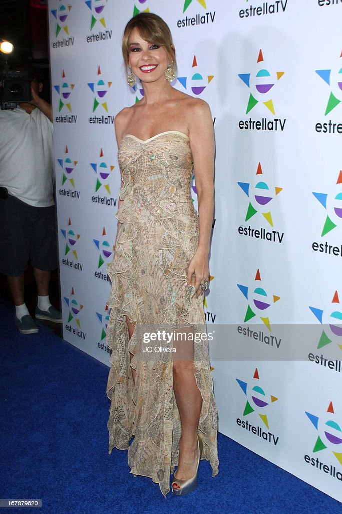 TV Personality Myrka Dellanos attends the launch party for Estrella TV news anchor: Myrka Dellanos at The Conga Room at L.A. Live on May 1, 2013 in Los Angeles, California.